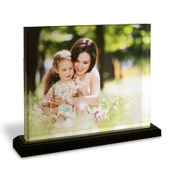 8x10 Horizontal Photo Block with Base