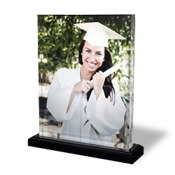 8x10 Vertical Photo Block with Base