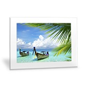 Horizontal 20x24 Clear Frame Wall Art