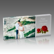4x9 Timeless Rose Photo Block