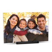 6x9 Horizontal Modern Photo Plaque