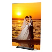 9x12 Vertical Modern Photo Plaque
