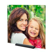 10x10 Square Modern Photo Plaque