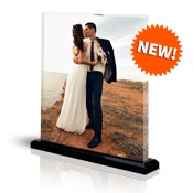 11x14 Vertical Photo Block with Base