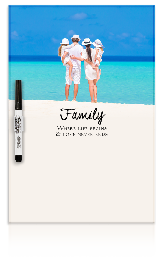 Acrylic Print Dry Erase Boards