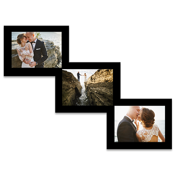 Customizable Acrylic Print Stairstep Frames